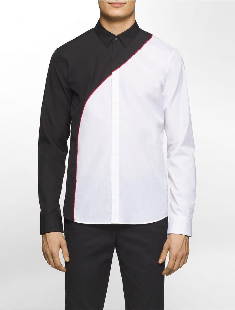Calvin Klein Platinum Colorblock Shirt