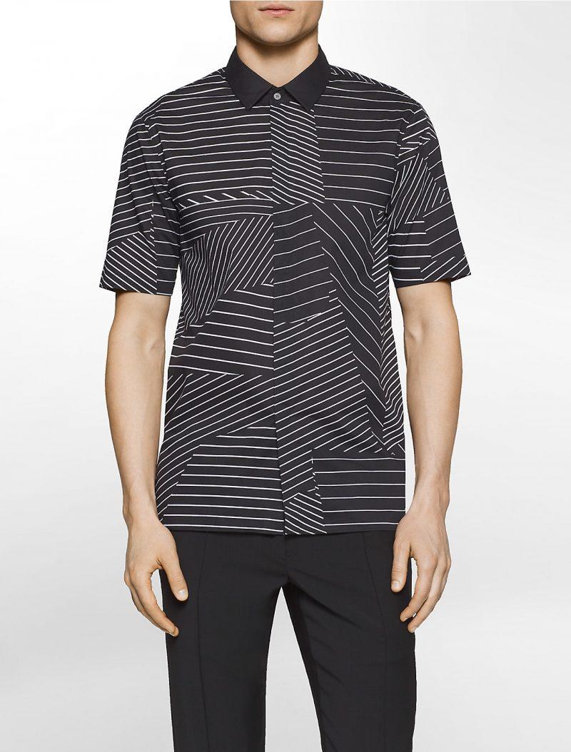 Calvin Klein Platinum Short-Sleeve Graphic Shirt