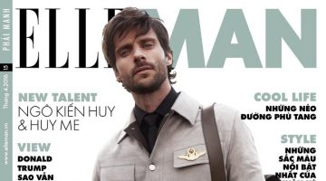 Elle Man Vietnam: Tommy Dunn Models Military Style