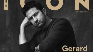 Gerard Butler Dons BOSS for Icon El País Cover Shoot