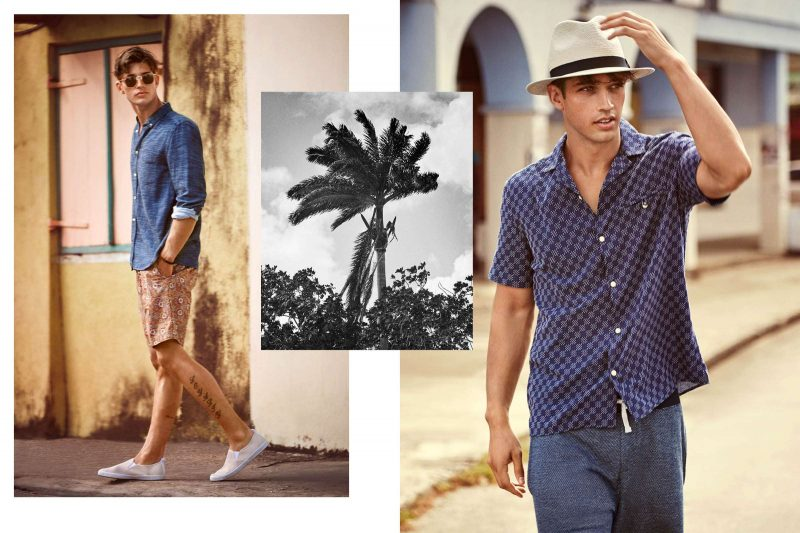 Summer Suede Shoes Outfit Men
