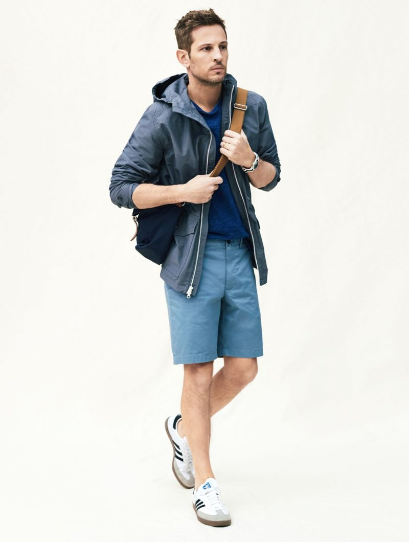 kelly rippy goes sporty in stretch stanton shorts from jcrew that feature a 9
