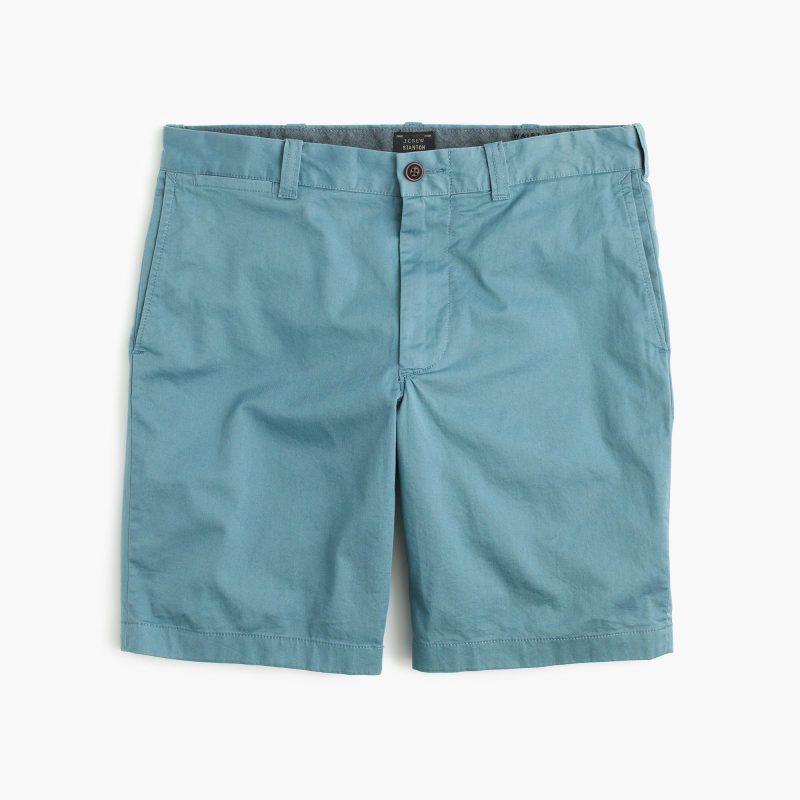 J.Crew Stretch Stanton Shorts in Seascape