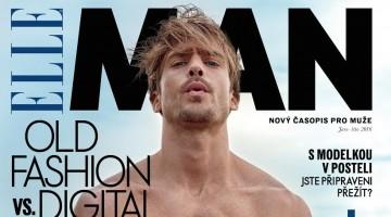 Jason Morgan Goes Nude for Elle Man Czech Cover Shoot