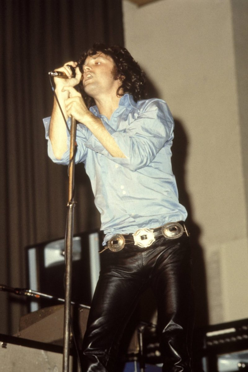 Jim Morrison Style Leather Pants Icon