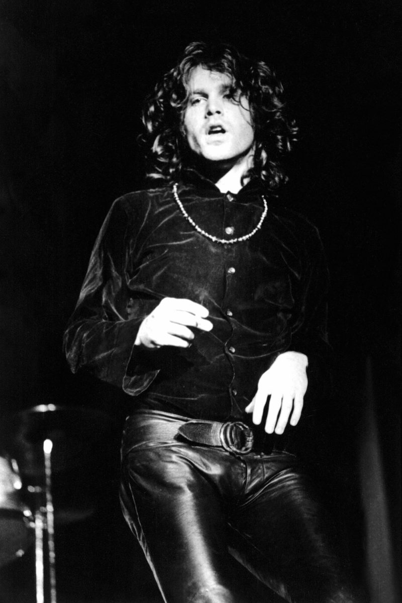 Jim Morrison performs with The Doors in his signature leather pants.  sc 1 st  The Fashionisto & Jim Morrison Style: Leather Pants Icon pezcame.com