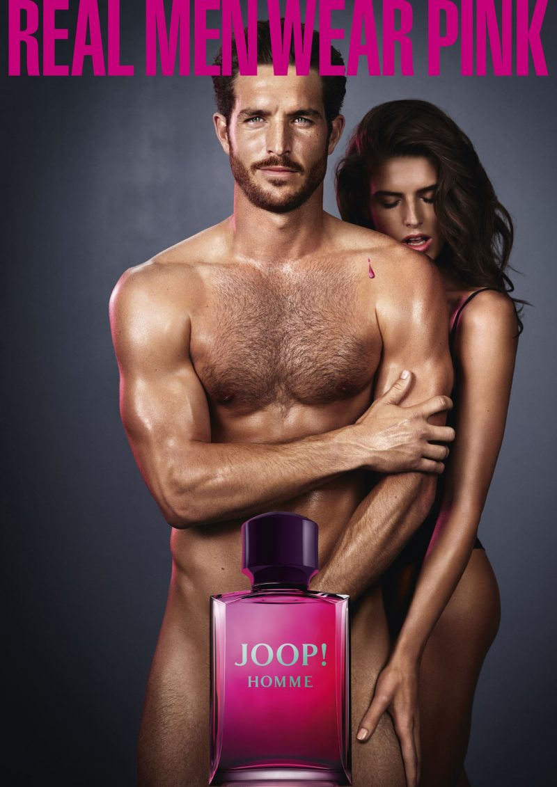 Clothing companys racy ad campaign featuring naked men