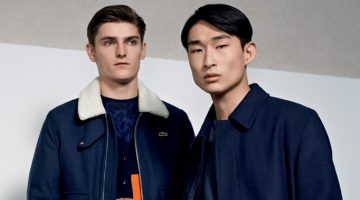 Lacoste Live Hones in on Outerwear for Fall