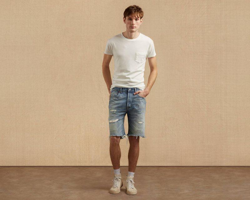 Levi's Vintage Clothing 1966 501 Jeans Cut-Off Shorta