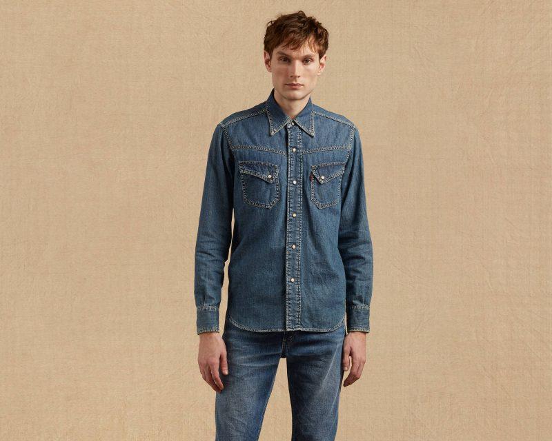 Levi's Vintage Clothing Western Denim Shirt