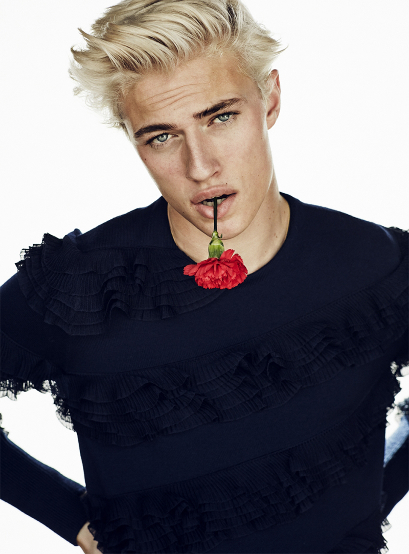 Lucky Blue Smith Is A Torero For Gq Style Turkey Cover Shoot