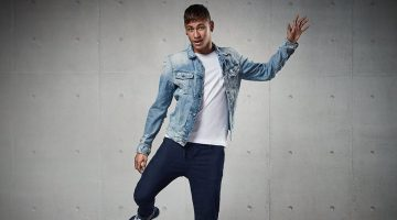 Neymar Jr. & Alessandra Ambrosio Charm in Replay's New Hyperfree Campaign