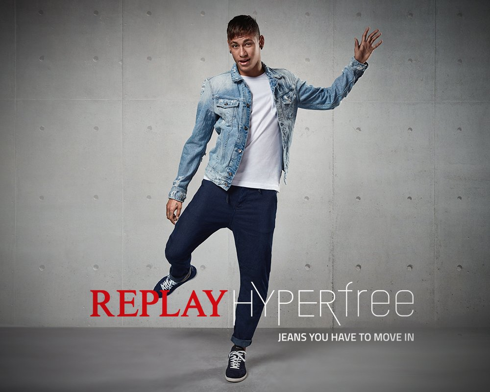 Neymar Jr Alessandra Ambrosio Charm In Replay 39 S New Hyperfree Campaign