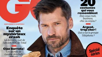 Nikolaj Coster-Waldau Covers GQ France in Suede & Denim
