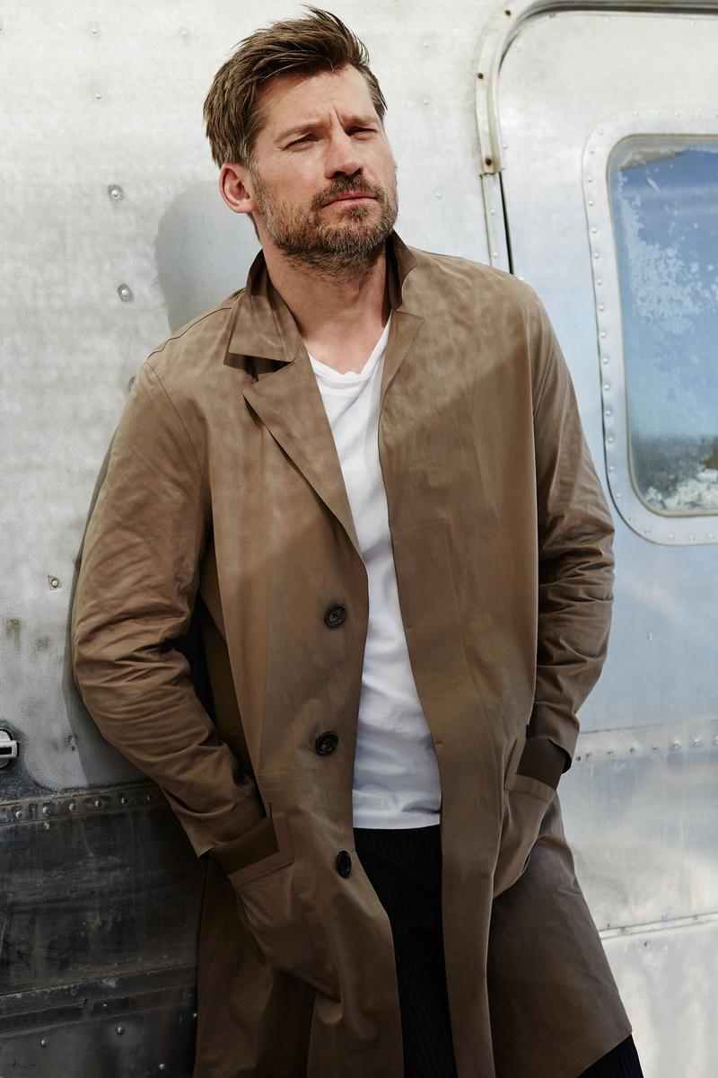 Nikolaj Coster-Waldau photographed by Blair Getz Mezibov for GQ France.