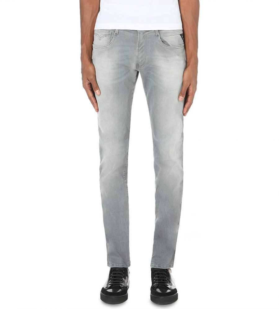 Replay Anbass Hyperfree Slim-Fit Skinny Jeans
