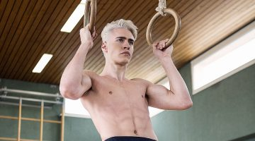 Oliver Stummvoll Works Out in Kilts for RETTL 1868
