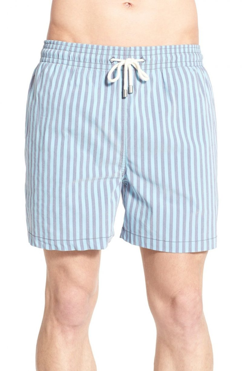 The Classic Striped Swim Trunks Solid & Striped Sneakernews Online Buy Cheap Footlocker Finishline Clearance Best Store To Get Wholesale Online Sale For Sale N3c6aWB