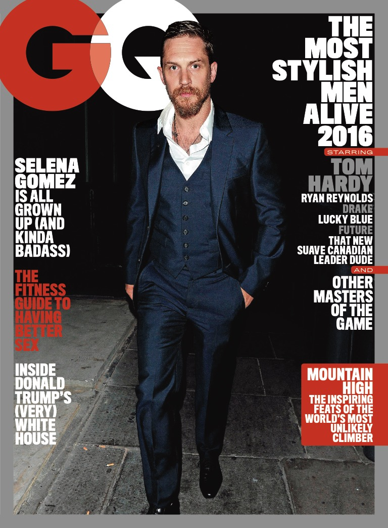 Stylish Magazines: GQ 2016 Most Stylish Men In The World Covers
