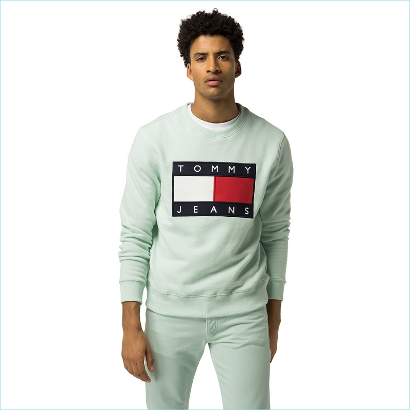 Tommy Jeans Flag Sweatshirt