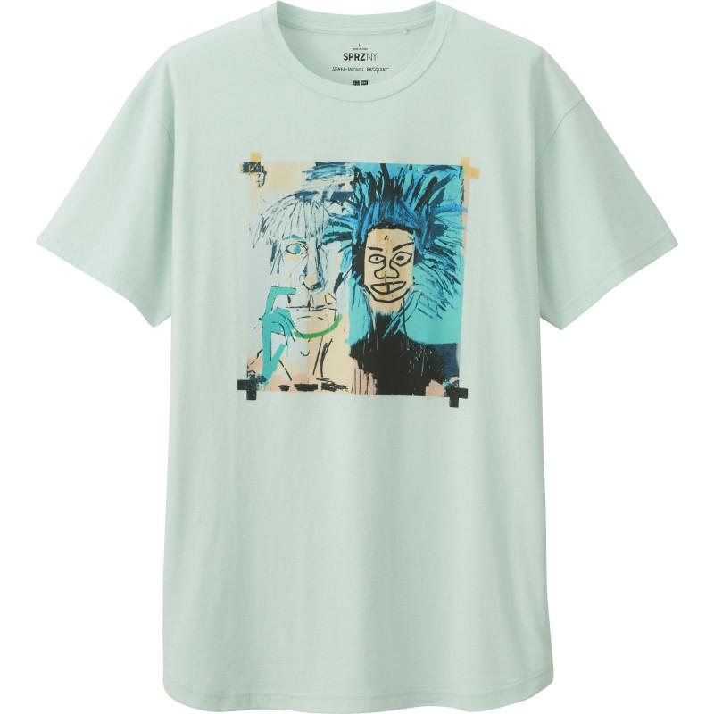 UNIQLO SPRZ NY Jean-Michel Basquiat Graphic T-Shirt