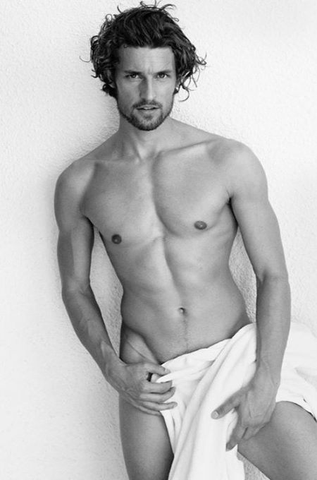 Wouter Peelen Appears Before Mario Testino for Towel Series