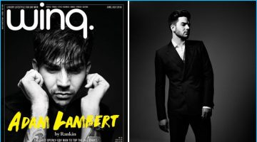 Adam Lambert Covers Winq, Discusses New Music, Sexuality + More