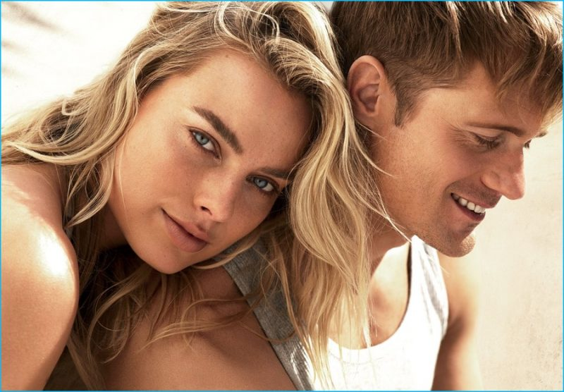 The Legend of Tarzan stars Margot Robbie and Alexander Skarsgård photographed for American Vogue.