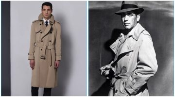 Aquascutum Pays Homage to Humphrey Bogart with Trench Coat
