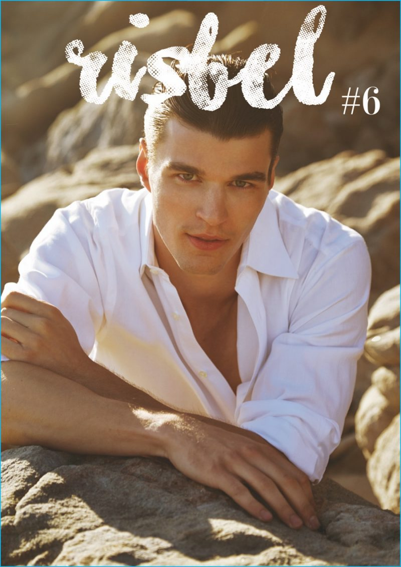 Arran Sly covers Risbel magazine.