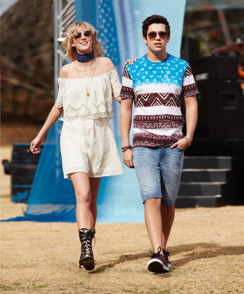 Austin Mahone wears American Rag for Macy's American Icons summer 2016 campaign.