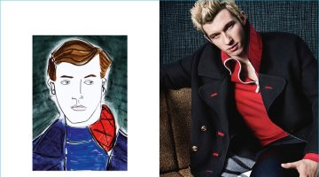 Callum Turner Reunites with Burberry for Fall Campaign
