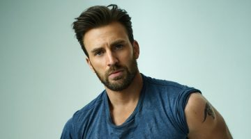 Chris Evans Promotes Captain America, Poses for Rolling Stone Shoot