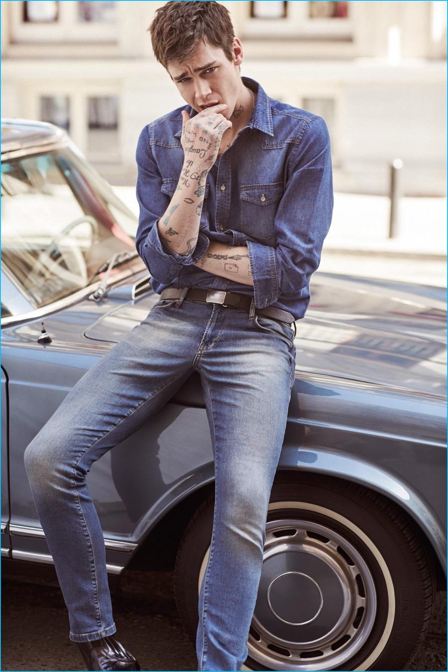 cole mohr for koton jeans 2016 springsummer campaign