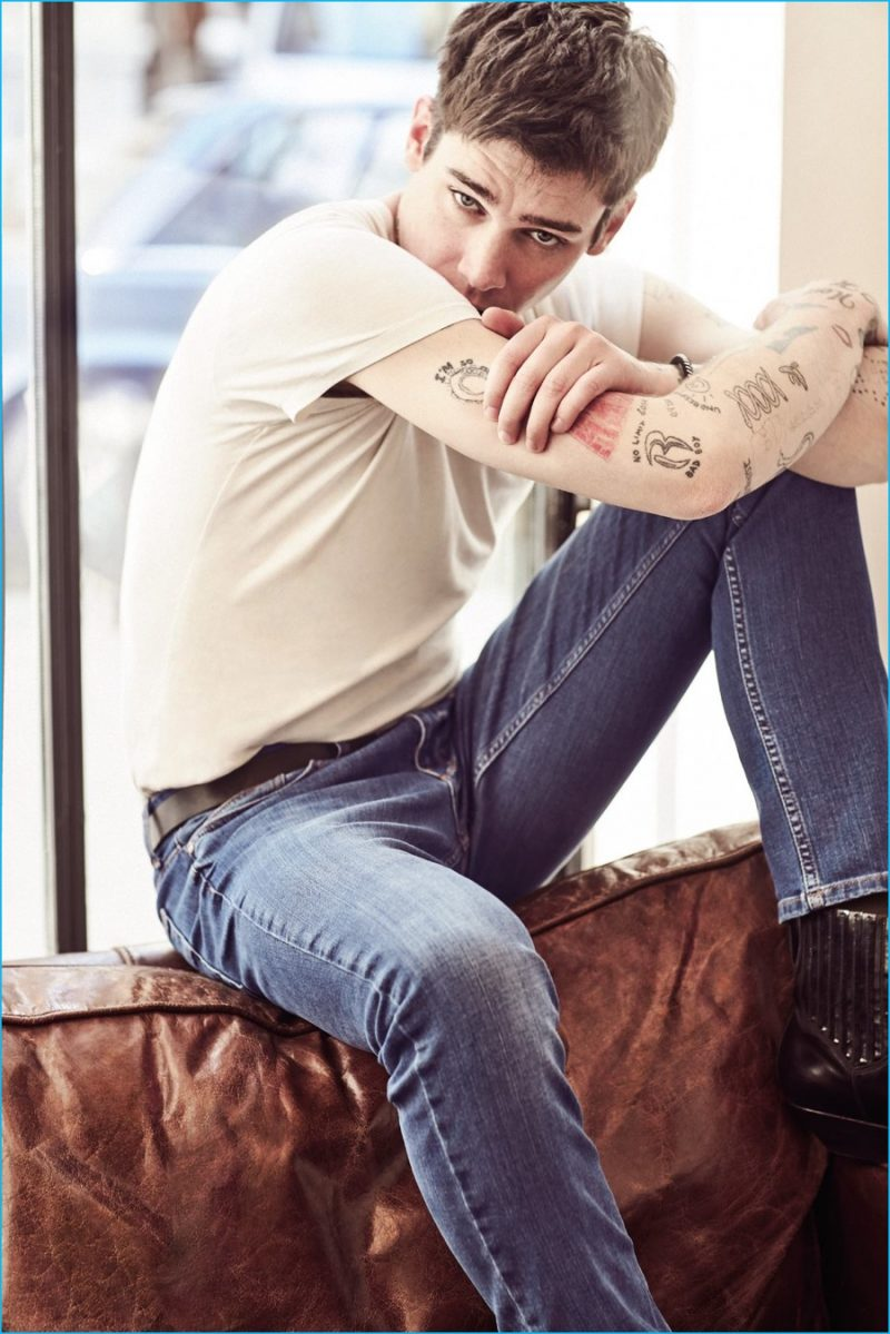 Cole Mohr For Koton Jeans 2016 Spring Summer Campaign