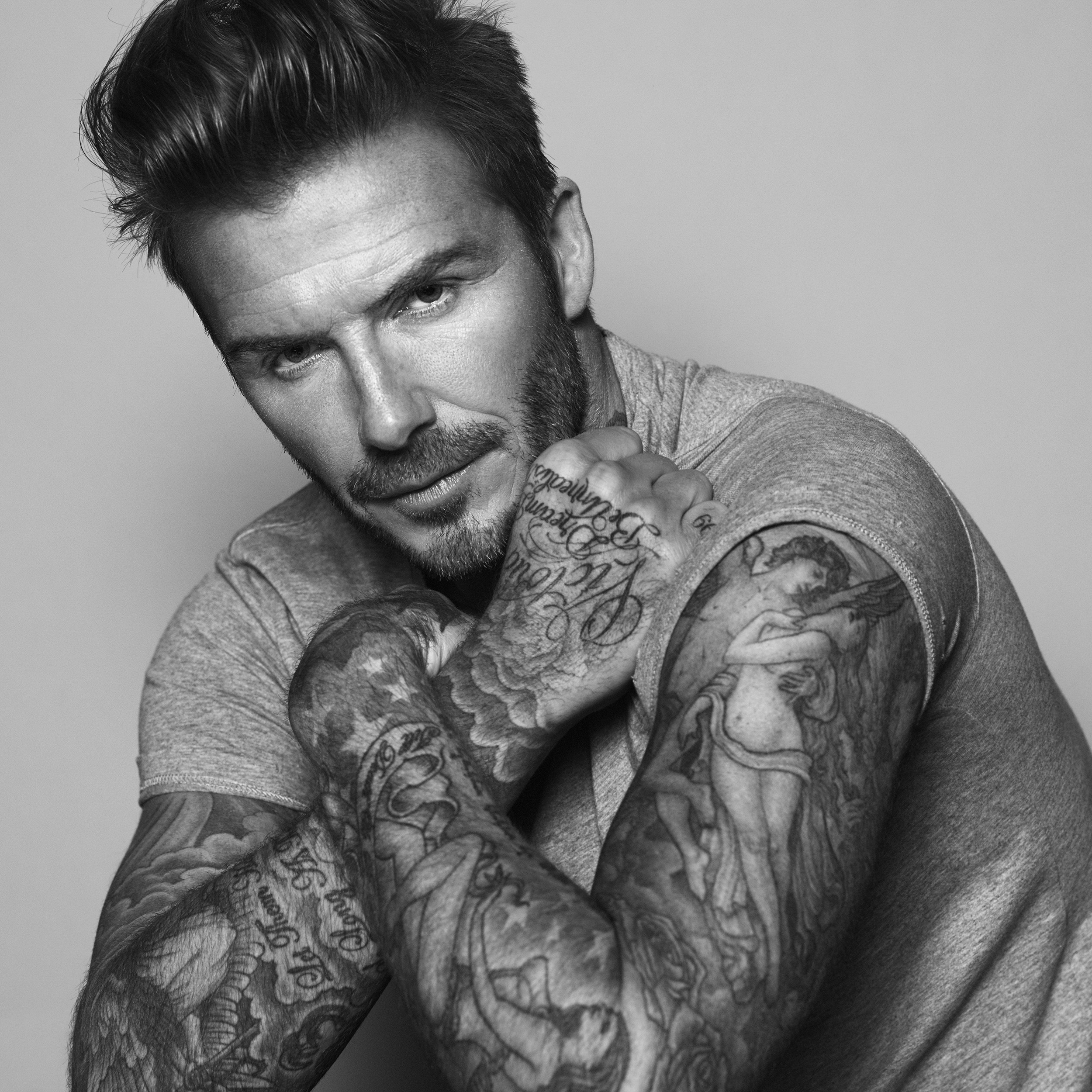 David Beckham Partners with Biotherm Homme for Men s Grooming Line