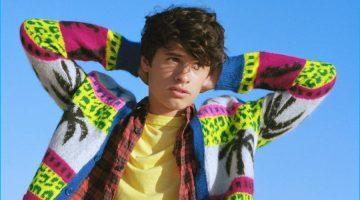 Pamela Anderson's Son Dylan Jagger Lee Makes His Modeling Debut