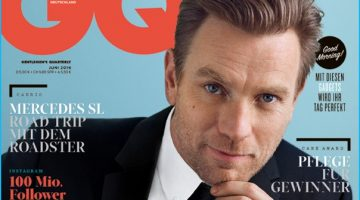 Ewan McGregor Covers GQ Germany's June 2016 Issue