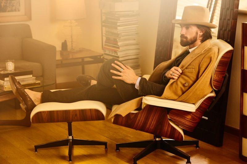 Dressed in Polo Ralph Lauren, Henrik Fallenius is the perfect gentleman.