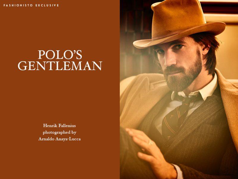 Fashionisto Exclusive: Henrik Fallenius photographed by Arnaldo Anaya-Lucca.