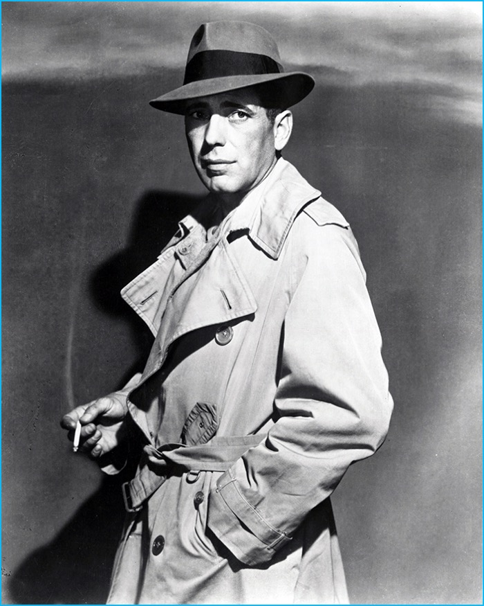 prevalent latest trends of 2019 buying new Aquascutum Pays Homage to Humphrey Bogart with Trench Coat ...