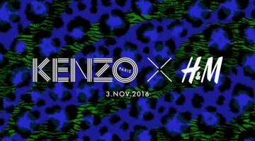 Kenzo Tapped for H&M's Latest Designer Collaboration