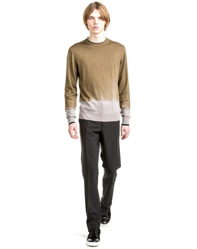 Lanvin Pre-Fall 2016 Dip Dye Sweater