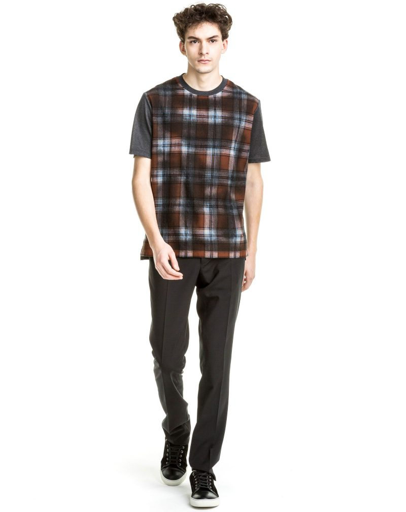 Lanvin Pre-Fall 2016 Over-dyed Check T-Shirt