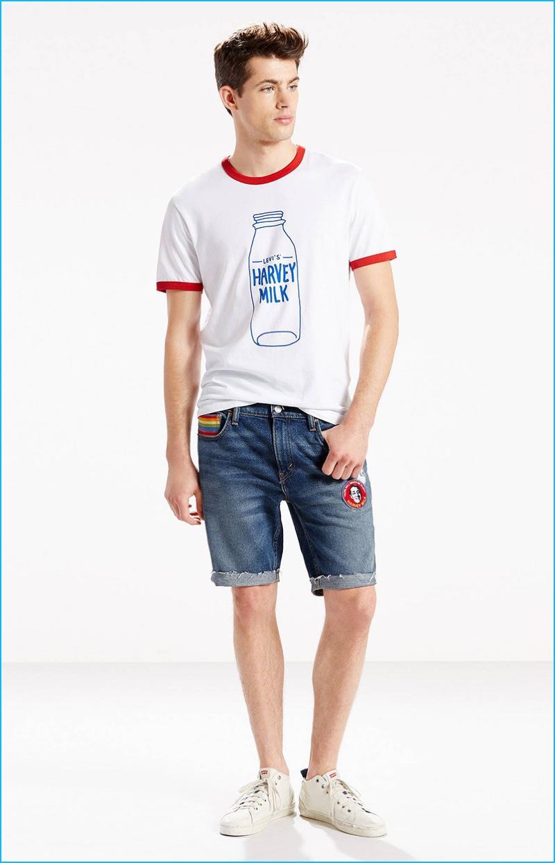 Levi's 511 Slim-Fit Pride Shorts
