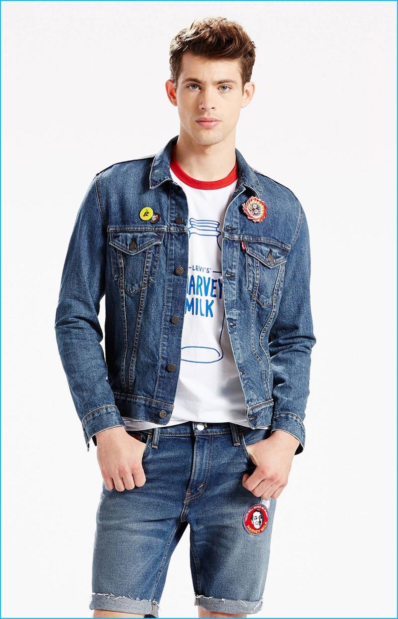 Levi's Pride Denim Trucker Jacket