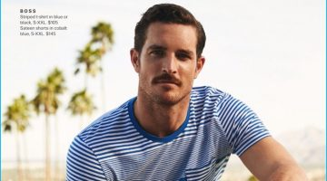 Vintage Cool: Justice Joslin Models Summer Style for Lord & Taylor