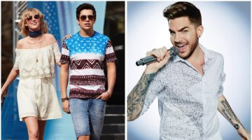 Macy's Rocks Out with Adam Lambert & Austin Mahone for American Icons Campaign