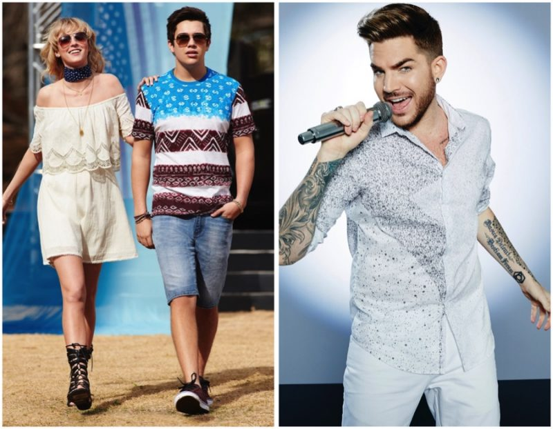 Austin Mahone and Adam Lambert for Macy's American Icons Summer 2016 Campaign