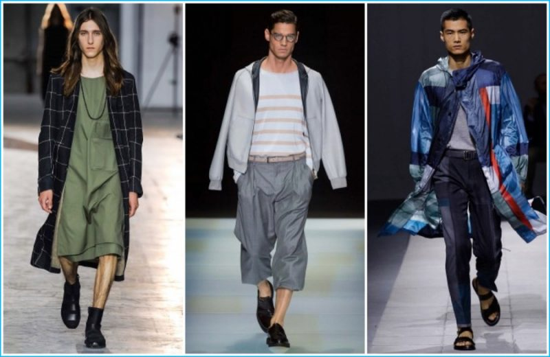 Milan Fashion Week (Pictured Left to Right)  Damir Doma, Giorgio Armani and 1f7bea93b8